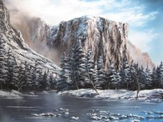 """Winter in Yosemite National Park""  by Kevin Hill paintwithkevin.com"