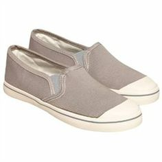 American Eagle Outfitters Womens Canvas Tennis Sneakers 008 10  $22.99 Sturdy canvas. Rubber toe and outsole. Slip on style.'