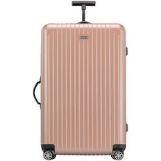 Rimowa North America Salsa Air Pearl Rose 29 Multiwheel (1.985 BRL) ❤ liked on Polyvore featuring bags, luggage and pearl rose