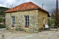Small,old Lebanese house