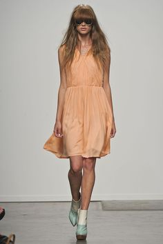 this will be mine come spring... outstanding color and loveeee the movement of the dress