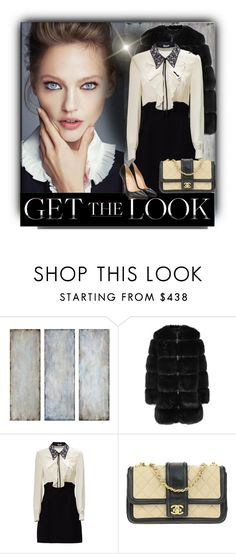 """""""Senza titolo #1629"""" by barbara-gennari ❤ liked on Polyvore featuring Uttermost, Givenchy, Chanel and Christian Louboutin"""