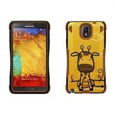 Samsung Galaxy Note 3 Beyond Cell Tri Shield Hybrid Deksel - Giraffe