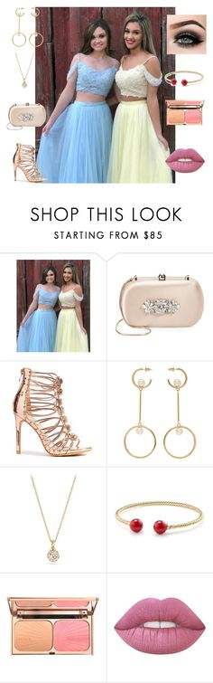 """prom dresses tulle dresses"" by jacqueline6231 ❤ liked on Polyvore featuring Badgley Mischka, Chloé, David Yurman and ASAP"