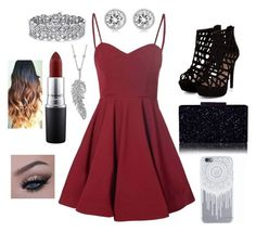 """""""Dance"""" by madisonbanks on Polyvore featuring Glamorous, Michael Kors, Palm Beach Jewelry, Penny Preville and MAC Cosmetics"""