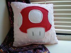 Super Mario Bros. Mushroom Pillow $10.00