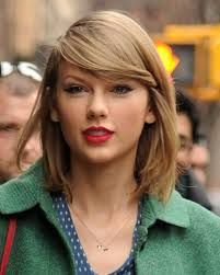 taylor swift - hair color
