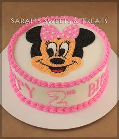 Minnie Mouse Cake | Sarah's Sweets & Treats
