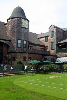 Newport Casino. Architect: McKim, Mead, & White