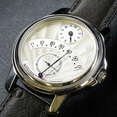 ライナー ニーナバー(ドイツ人独立時計師) レトログラード ミニッツ コンプリケーション #watches