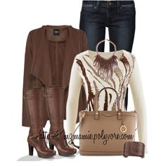 A fashion look from September 2014 featuring Oasis cardigans, Levi's jeans and UGG Australia boots. Browse and shop related looks.