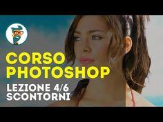 Corso di Photoshop CC Base - Lezione 4/6 - Livelli, Selezioni e Maschere HD - YouTube