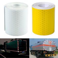 Vendita calda variopinta avvertimento riflettente di sicurezza conspicuity tape adesivo pellicola 3 m