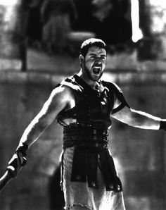"""My name is Maximus Decimus Meridius, commander of the Armies of the North, General of the Felix Legions, loyal servant to the true emperor, Marcus Aurelius. Father to a murdered son, husband to a murdered wife. And I will have my vengeance, in this life or the next."""
