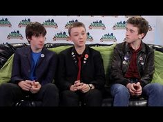 The Strypes – Exclusive Interview Presented by Honda Stage at Music Midtown. IM FREAKING OUT. NO SHADES AND HE GOT HIS BANGS TRIMMED SO YOU CAN SEE HIS EYES WELL. :) I think Evan and Pete did some talking, but I honestly didn't pay they least attention to what they said.