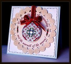 Spellbinders Ideas | ... card using the new Spellbinders Nestabilities - Beaded Circles