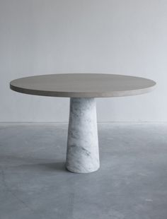 Contemporary Pedestal Dining Table - Remodel Hunt