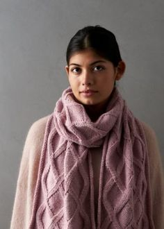 Ravelry: No-Cable Cable Scarf pattern by Purl Soho Knitting Designs, Knitting Patterns Free, Free Knitting, Knitting Projects, Knitting Ideas, Crochet Patterns, How To Purl Knit, Knit Purl, Purl Soho