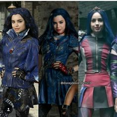 Evolução da Evie #Descendants #Descendants2 #Descendants3