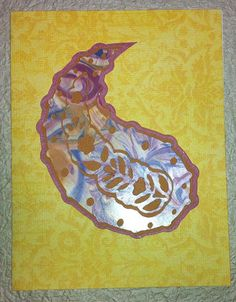 Paisley Greeting Card  Cut Paper Cricut by vettro on Etsy, $3.50