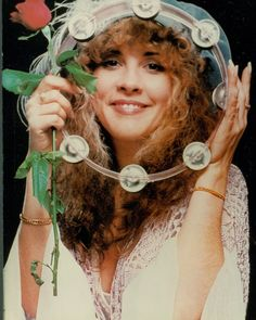 vintage everyday: Sexy Women of Rock - 20 Beautiful Portraits of Stevie Nicks in the 1970s