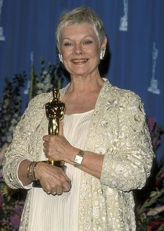 """Judi Dench - Best Supporting Actress Oscar for """"Shakespeare in Love"""""""