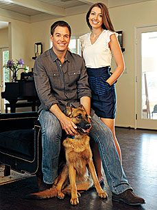 'NCIS' Actor Michael Weatherly's 'Starter Kid': His Puppy! - Stars and Pets, Dogs : People.com