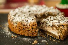 La SBRICIOLATA AL CAFFÉ E RICOTTA si presenterà con una crosta aromatizzata al caffè e un ripieno di ricotta e cacao dolce.