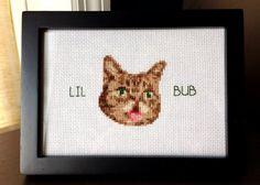 Cross Stitch Lil Bub