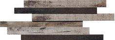#OldWood #WalnutMoka #3D #Boards #Mosaic from #MidAmericaTile   #InnovativeLooks #WoodLooks #walnut #mocha #brown #plank