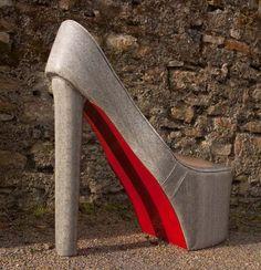 Shoetastic! by Irish furniture designer madebyed.com Garage Shed, Irish, Designers, Furniture, Beautiful, Irish Language, Home Furnishings, Ireland, Arredamento