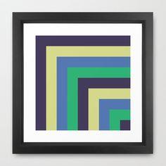 jesen v.6 Framed Art Print by trebam - $30.00
