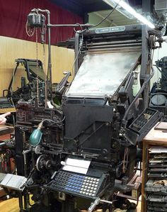 International Printing Museum (Carson, California, U.S.A.):  One of the best collections of antique printing machinery in the world  (Atlas Obscura)
