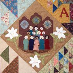 Hosanna Choir Applique Block of Month