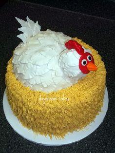 Henrietta  chicken cake