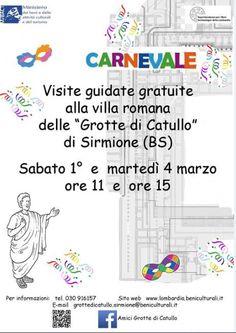 Carnevale alle Grotte di Catullo di Sirmione http://www.panesalamina.com/2014/22385-carnevale-alle-grotte-di-catullo-di-sirmione.html