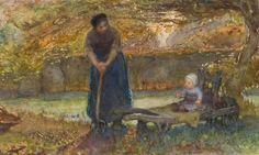Bernardus Johannes Blommers – Moeder en kind