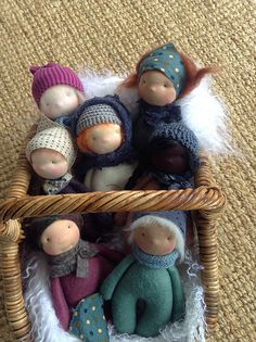 Gorgeous pips from Melbourne dollmaker Ma Petite Vie