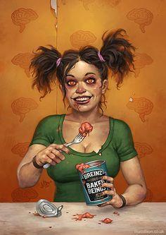 Portrait Illustrations by Matt Dixon
