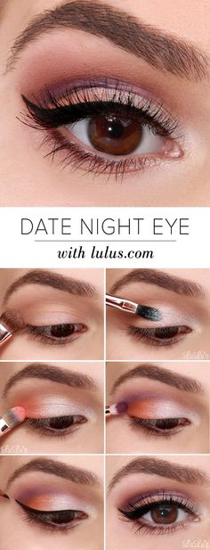 Making plans this weekend with that special someone? We suggest you pair that sexy LBD with this must-try glamorous Date Night Eyeshadow Tutorial!