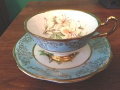 Woodland Genuine Bone China Tea Cup and Saucer