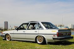 Cressy_2 by Jeffrey Cerritos, via Flickr Toyota Cressida, Classic Japanese Cars, Car Game, Old School Cars, Air Ride, Toyota Cars, Jdm Cars, Lowrider, Toyota Corolla