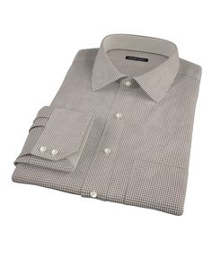 Brown Houndstooth by Proper Cloth