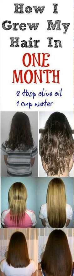 The best way to grow your hair!