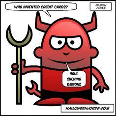 Halloween Demon Joke Three