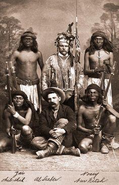 Apache scouts and Al Sieber