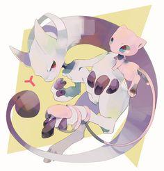 Pokemon X Y - Mew & Mewtow/Mewthree ?