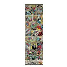 Marvel Comic Panel Spider-Man Peel and Stick 1.5-Foot x 5-Foot Panel - BedBathandBeyond.com