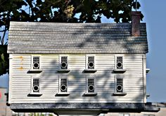 thomas+burke+birdhouses | Thomas F. Burke birdhouse along the Wilmington DE Riverwalk | Flickr ...