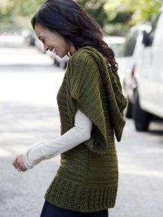 V-Topper | Yarn | Free Knitting Patterns | Crochet Patterns | Yarnspirations